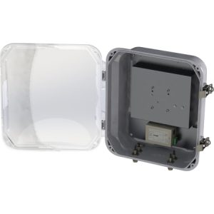 Access Point Heated Enclosure, PoE, Clear Door