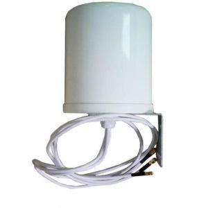 2.4/5GHz 6/6 dBi Outdoor Dome Omni Antenna, 3 x RP-SMA