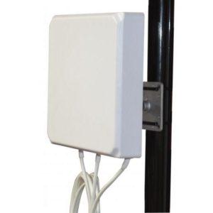 2.4/5GHz 6/6 dBi Patch Directional Antenna, 3 x RP-SMA