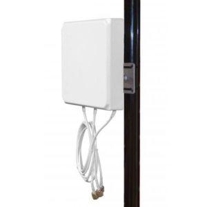 2.4/5GHz 6/6 dBi Patch Directional Antenna, 3 x RP-TNC